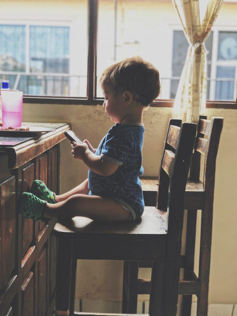 uso de la tecnología en los niños