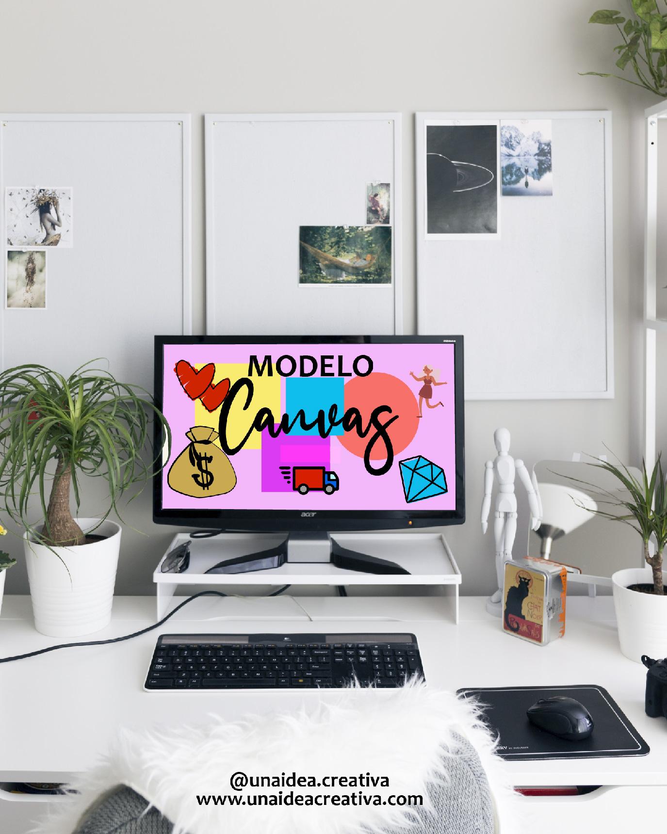plantilla modelo canvas